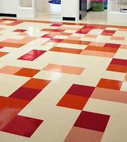 VCT Vinyl Tile Floor Stripping Waxing Irvine CA